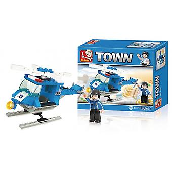 Sluban Building Blocks Town Serie Police Helicopter