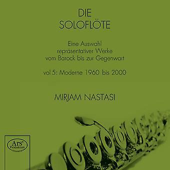 Denissow / Nastasi, Mirjam - Solo de flauta [SACD] los E.e.u.u. las importaciones
