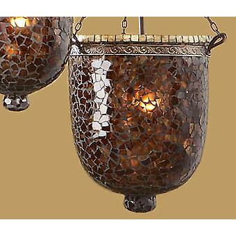 Schuller Large Brown-Gold Glass (Home , Verlichting , Schermen)