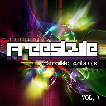 Freestyle: 4 Hit Artists-16 Hit Songs - Vol. 1-Freestyle: 4 Hit Artists-16 Hit Songs [CD] USA import