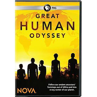 Nova: Great Human Odyssey [DVD] USA import