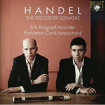 G.F. Handel - Handel: De Recorder sonates [CD] USA import