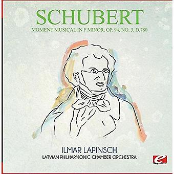 Schubert - Moment Musical in F Minor Op. 94 Nr. 3 D.780 [CD] USA import