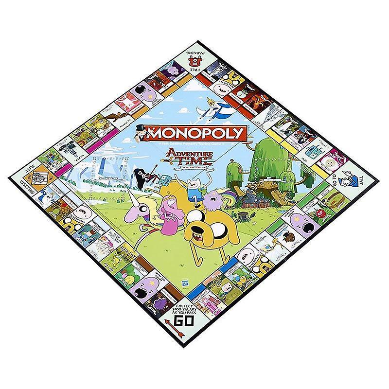 Monopolie Adventure Time Edition Family Board Game 2 tot en met 6 spelers