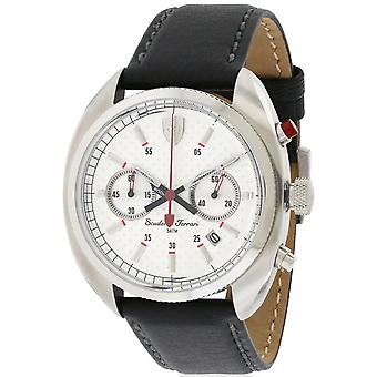 Ferrari Scuderia in pelle Mens Watch 0830241