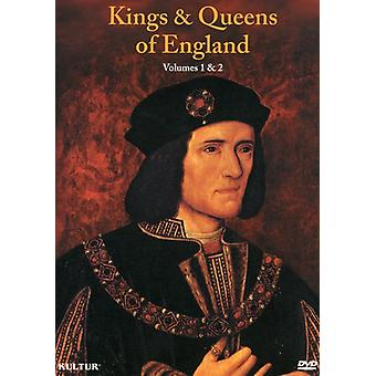 Kings & Queens of England Box Set [DVD] USA importeren
