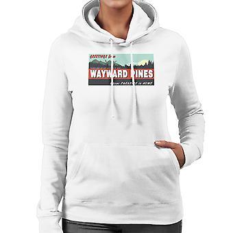 Where Paradise Is Home Wayward Pines Women's Hooded Sweatshirt