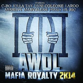 AWOL - Mafia Royalty 2K 14 [CD] USA importerer