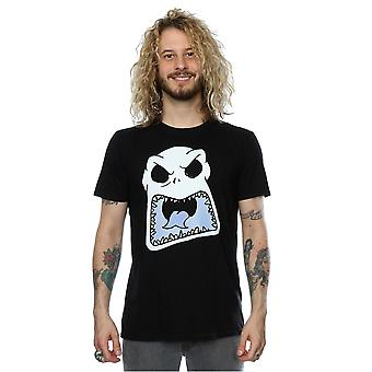 Disney Men's Nightmare Before Christmas Jack Skellington Scary Face T-Shirt