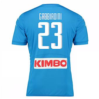 2016-17 Napoli authentiek thuis Shirt (Gabbiadini 23)