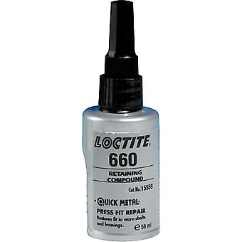 Loctite 660 50ml Quick Metal Retaining Compound High Strength Gap Filling 267328