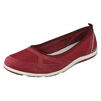 Ladies Down To Earth Flat Casual Pumps F80210
