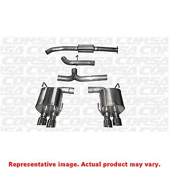 CORSA Performance Cat Back Exhaust 14857 Polished Fits:SUBARU 2015 - 2015 WRX