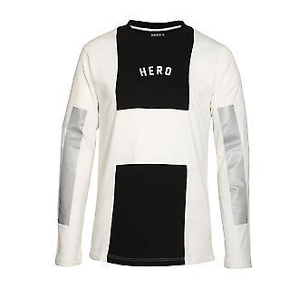 HERO'S HEROINE Long Sleeve Long Line T-Shirt