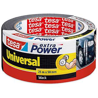 Tesa Extra Power Universal Duct Tape 25M:50Mm Black