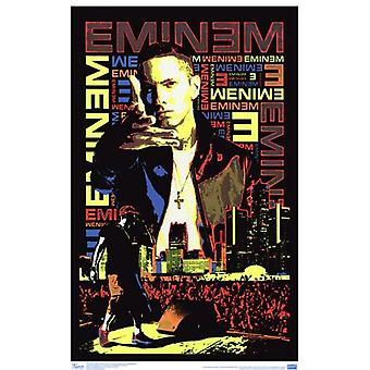Black Light - Eminem Poster Poster Print