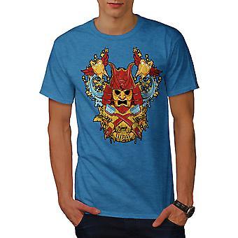 Katana Reiniger Männer Royal BlueT-Hemd   Wellcoda