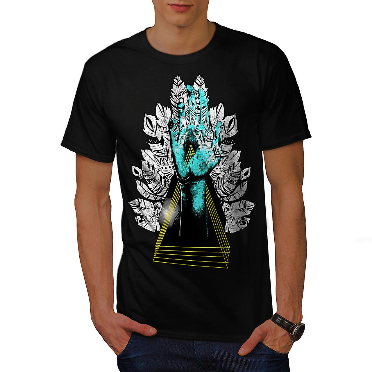 Sublime Nature Fashion Men Black T-shirt | Wellcoda