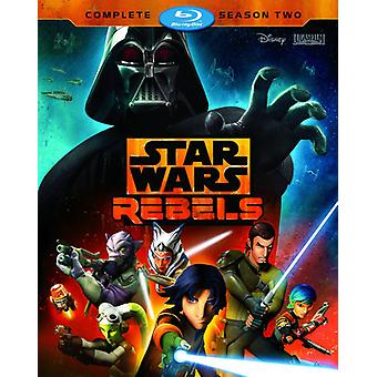 Star Wars Rebels: Complete Season 2 [Blu-ray] USA import