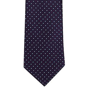 Michelsons of London Basic Neat Polyester Tie - Purple