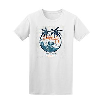 Vintage California LA Beach Surf Design Tee - Image by Shutterstock