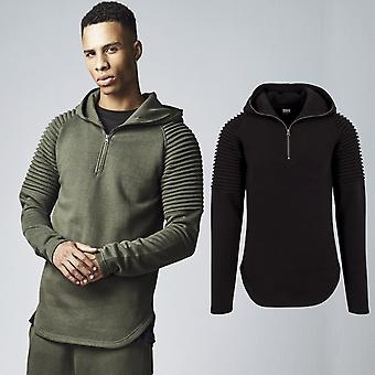 Urban classics - PLEATS TERRY Hoody