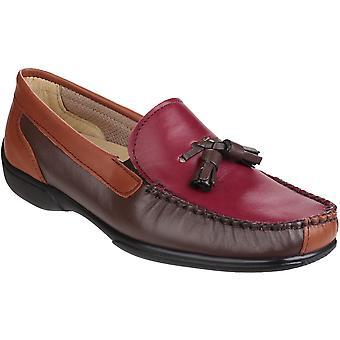 Cotswold dam/damer Biddlestone Slip på Mocccasin dagdrivare skor