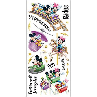 Disney Stickers Borders Packaged Amusement Park Rides Pdscb 113