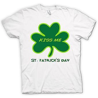Mens T-shirt - St Patricks Day - Küss mich
