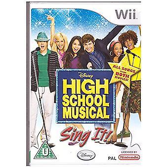 High School Musical Sing It! (Wii)