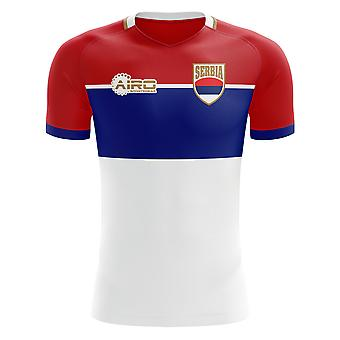 2018-2019 Serbia Away Concept Football Shirt (Kids)