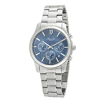 Kenneth Cole New York men's wrist watch analog quartz stainless steel 10021098