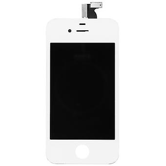 Display LCD complete unit touch panel for Apple iPhone 4 white