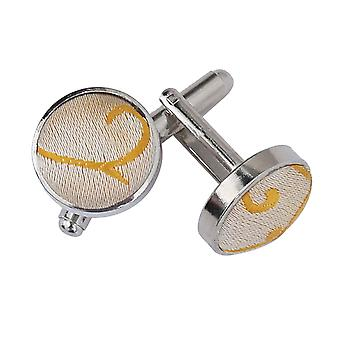 Gold Swirl Cufflinks