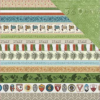 Scrapberry's Discover Italy Double-Sided Cardstock 12
