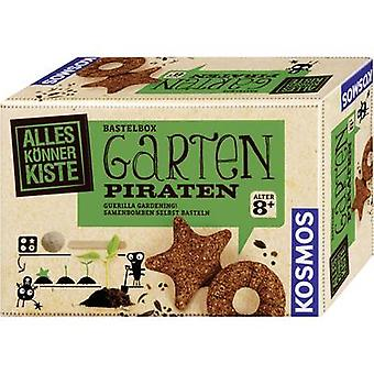 Arts & Craft Kit Kosmos Garten-Piraten 604028 8 years and over