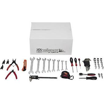 10-piece tool set for 3D printer assembly Suitable for (3D printer): Velleman Vertex