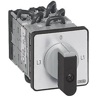 Cambio de BACO NY17AQ1 amperímetro interruptor ° 16 A 360 gris, negro 1 PC