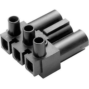 Mains connector AC Series (mains connectors) AC Plug, right angle Total number of pins: 2 + PE 16 A White Adels-Contact AC 166 GST/ 3 1 pc(s)