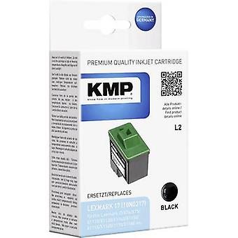 KMP Ink replaced Lexmark 17 Compatible Black L2 1017,4171