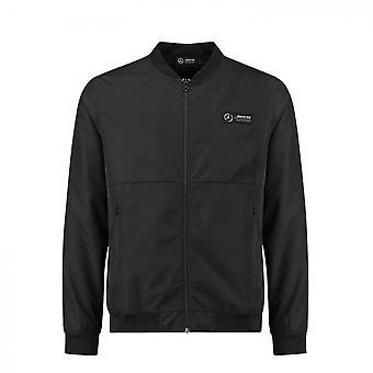 Mercedes AMG Petronas Men's Bomber Jacket Black 2018