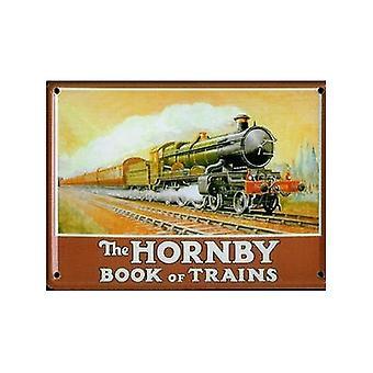 Hornby boek van treinen (geen datum) metalen briefkaart / Mini Sign / Fridge Magnet