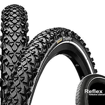 Neumáticos de la bicicleta tráfico continental / / 47-507 (24 × 1, 75″)