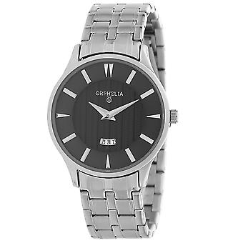 ORPHELIA Men's Analogue Watch The Flatline Silver Stainless steel OR62502