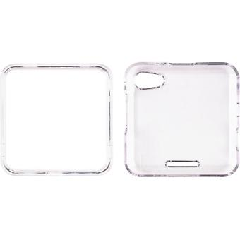 Wireless Solutions Snap-On Case for Motorola MB511 Flipout - Clear