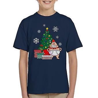 Captain underbukser rundt juletre Kids t-skjorte