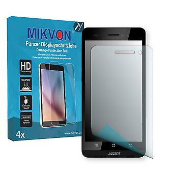 Accent A480 Screen Protector - Mikvon Armor Screen Protector (Retail Package with accessories)