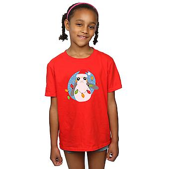 Star Wars Girls The Last Jedi Porg Christmas Lights T-Shirt