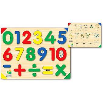 La jornada de aprendizaje levantar y aprender rompecabezas número 123