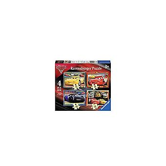 Ravensburger puzzel Cars 3 4 in 1
